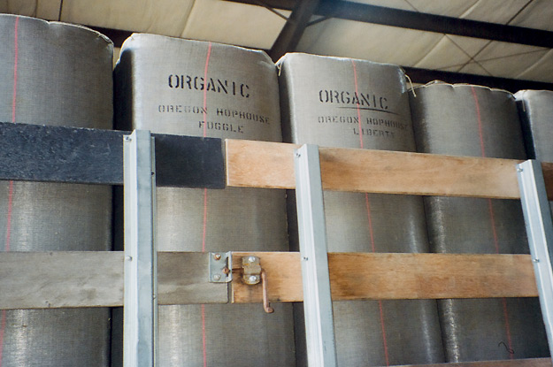 Bales of hops